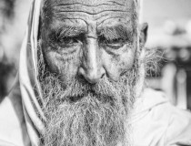 Oldman in Hunza, Pakistan.
